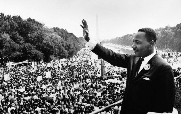 """El discurso """"I have a dream"""" se convirtió en símbolo de la lucha por las libertades en todo el mundo."""