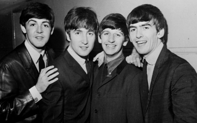 The Beatles. Paul, John, Ringo y George.