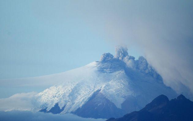 Toma del volcán Cotopaxi. Foto: REUTERS.