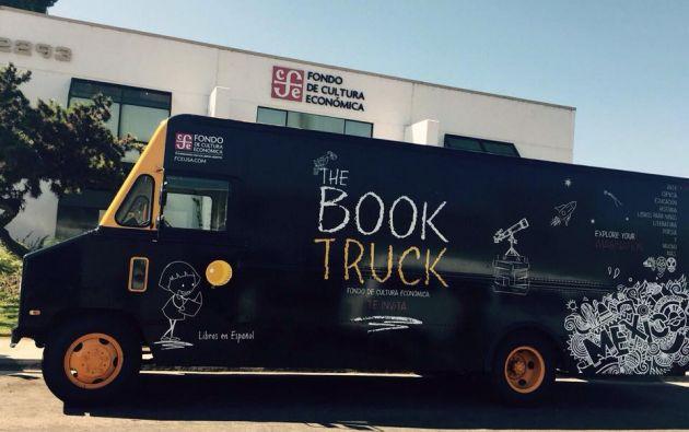 """La """"Book Truck"""" visitará escuelas en varias ciudades de EE.UU."""