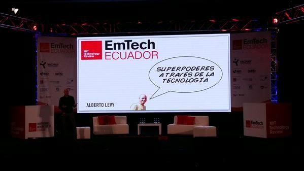 Foto: Twitter / EmTech
