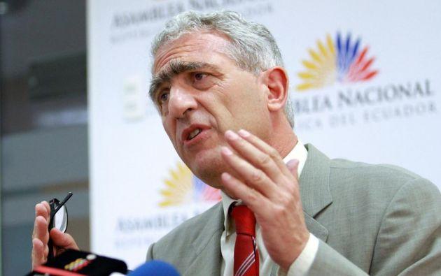 Para el legislador Fernando Bustamante, alcanzar el acuerdo será un desafío. Foto: Flickr / Asamblea Nacional.