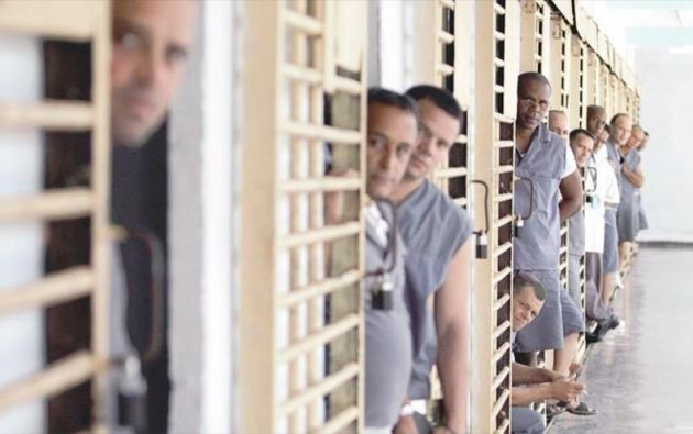 Presos cubanos en una cárcel cerca de La Habana. Foto: Tomada de hispantv.com.