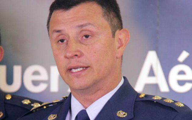 General Carlos Bueno, comandante de la Fuerza Aérea Colombiana (FAC).