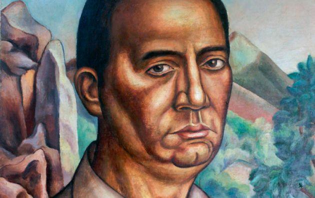 Autorretrato. Rendón conoció Ecuador a los 26 años, en 1920. Nació en París pero se consideraba ecuatoriano, y guayaquileño.