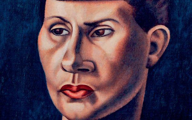 Retrato de Paulette. Juntos vivieron en Francia, en Ecuador, y pasaron sus últimos años en Portugal.