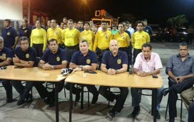 Foto: Cuerpo de Bomberos de Guayaquil.