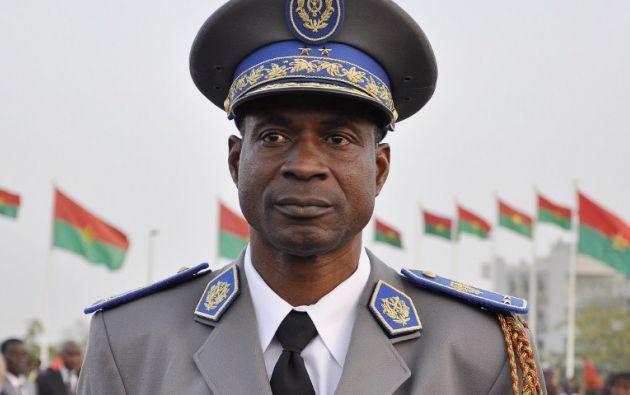 El general Gilbert Diendéré se puso al frente de un Consejo Nacional de la Democracia. Foto: AFP