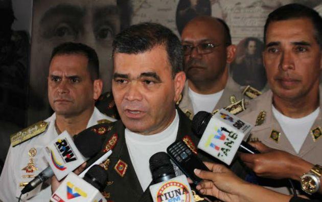 Vladimir Padrino, ministro de Defensa de Venezuela.