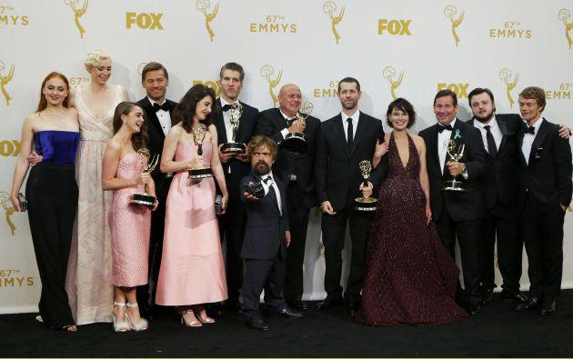 El elenco de Game of Thrones. Foto: REUTERS.