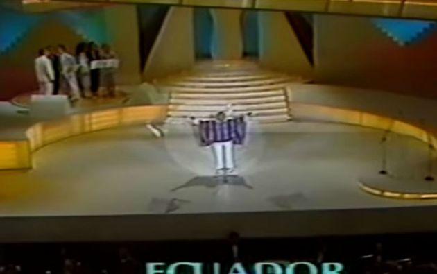 Ecuador se ubicó segundo en el Festival de la OTI 1985.