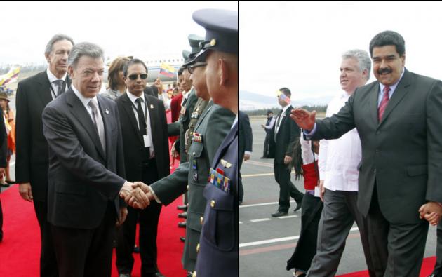 Ambos mandatarios ya están en el Palacio de Carondelet. Foto: Flickr / Presidencia de la República