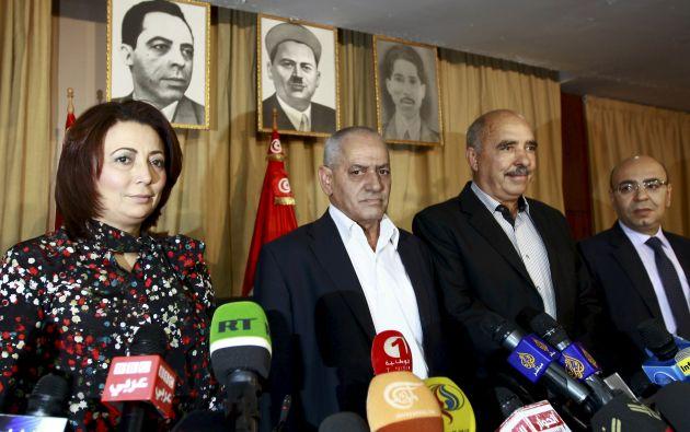 El Cuarteto del Diálogo Nacional tunecino en una imagen de archivo, de 2013. Foto: REUTERS.
