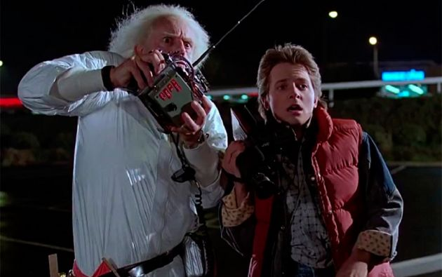 """""""Volver al futuro"""" (1985)."""