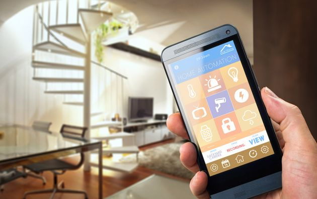 La domótica permite gestionar desde una central todos los servicios de la casa. Foto: Fotolia
