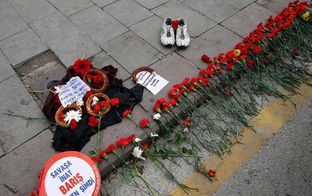 El atentado en Ankara deja cerca de cien muertos. Foto: REUTERS