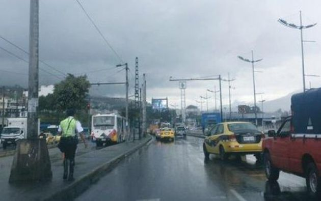 Este 14 de octubre, se registraron lluvias intensas en Quito, y se replicaron con menor fuerza en la Costa. Foto: Diario PP.