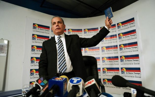 El opositor venezolano Manuel Rosales. Foto: Archivo / REUTERS.