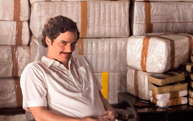 """Wagner Moura, conocido en """"Tropa de Élite"""", interpreta a Pablo Escobar en """"Narcos""""."""