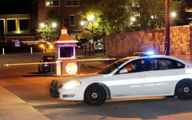 El tiroteo ocurrió en el patio del campus Floyd-Payne de la universidad en Nashville, Tennessee.