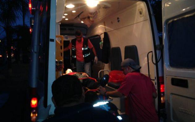 El hecho se registró en la autopista Narcisa de Jesús por el volcamiento de un camión. Foto: Twitter / Henry Dueñas.