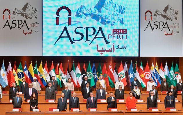 El anterior encuentro entre líderes sudamericanos y árabes se cumplió en Lima en 2012.