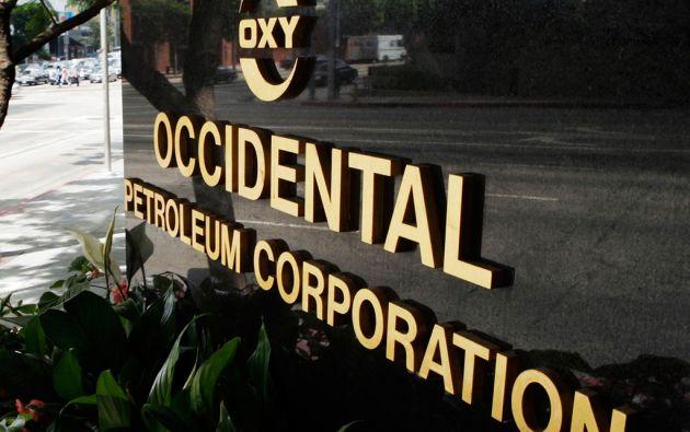 Oxy (Occidental) pretende recibir una indemnización de 1.700 millones de dólares