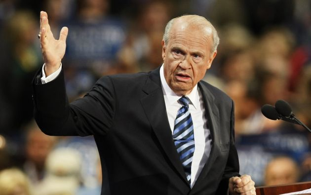 Thompson en la Convención Nacional Republicana en 2008. Foto: REUTERS.