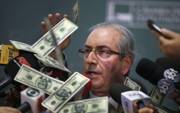 Eduardo Cunha tiene pendiente decidir sobre un pedido de impeachment contra Dilma Rousseff.