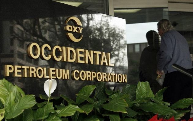 cuador presentó una propuesta de pago menor a la petrolera Occidental (OXY) por caducidad de contrato en 2006. Foto: Ecuavisa.com