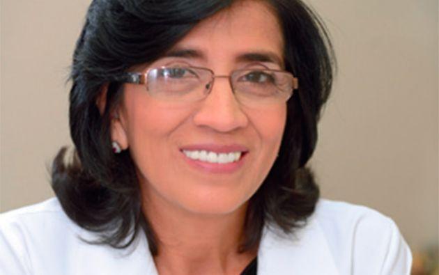 Doctora Bella Maldonado. Jefa de la Unidad de Trasplante de SOLCA Guayaquil.