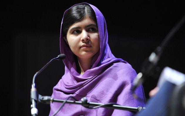 El documental He named me Malala retrata la vida íntima de la Nobel de la Paz en 2014 Malala Yousafzai. Foto: Wikipedia.