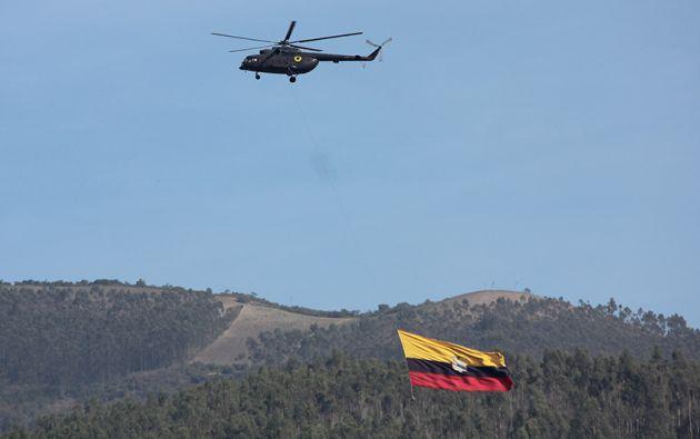 Foto: Ejército Ecuatoriano