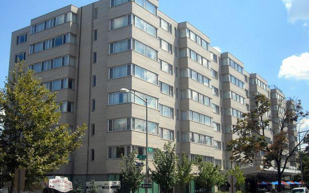 La Policía indicó que se había producido un deceso el jueves en el 1500 de la avenida New Hampshire Avenue NW, donde se encuentra el hotel The Dupont Circle. Foto: Wikipedia.