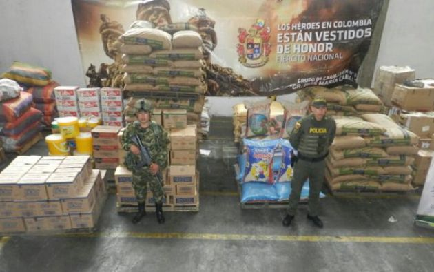 Foto: Twitter / Ejército Colombia.