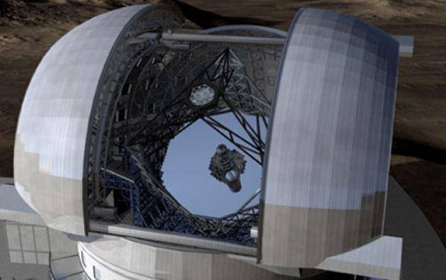 """El centro chileno busca ser parte de la red mundial de telescopios """"Event Horizon Telescope"""". Foto referencial: Emol."""