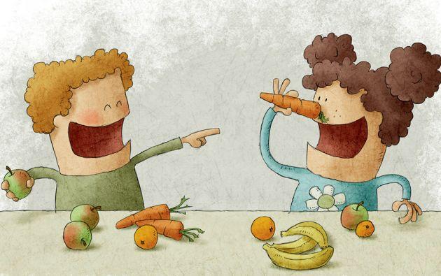 En cualquier régimen nutricional equilibrado se considera el consumo de varias porciones diarias de frutas y vegetales.