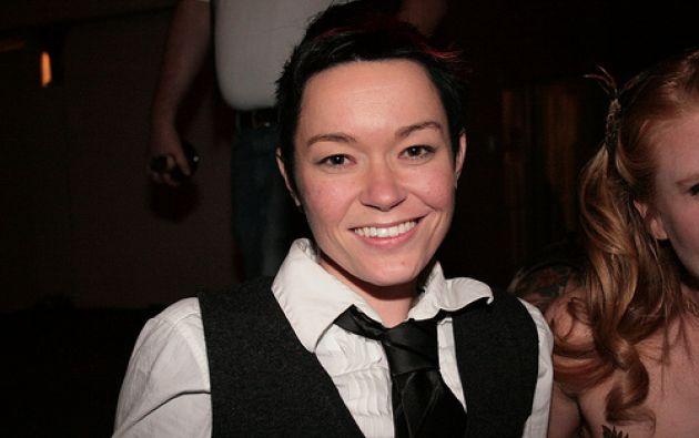 La actriz porno Jiz Lee. Foto: Lifebeyondbivalence.blogspot.com.