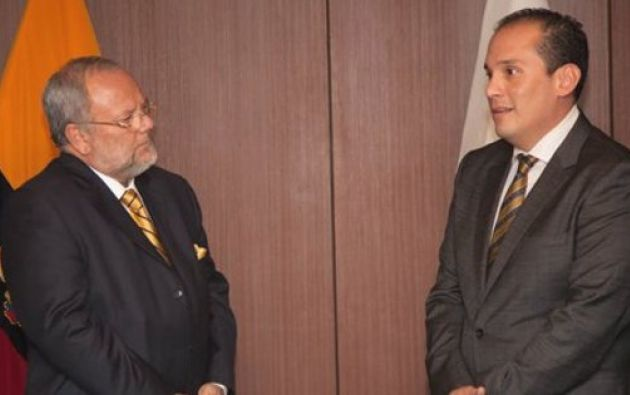 El funcionario asume el cargo que dejó Carlos Pareja, actual ministro de Hidrocarburos. Foto: Twitter / Petroecuador.