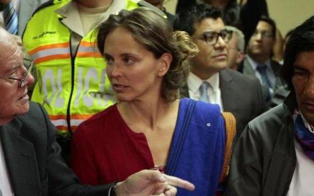 Picq  había solicitado la visa Mercosur, luego de que le fue retirada la visa de intercambio cultural con la que permanecía en Ecuador. Foto: Archivo.