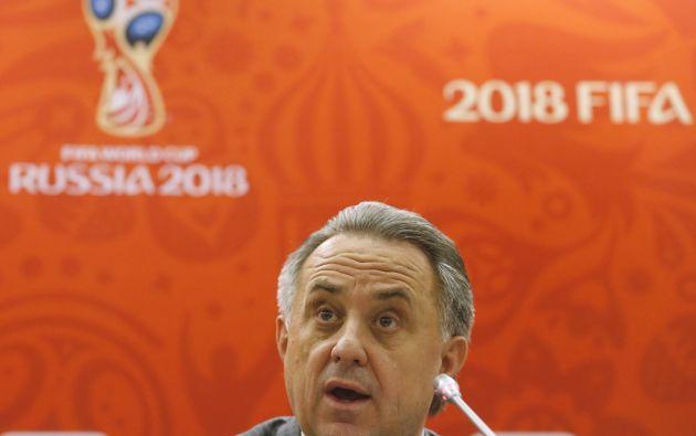 El ministro de deportes ruso, Vitaly Mutko. Foto: REUTERS.