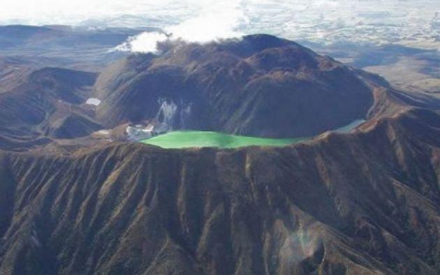 De acuerdo al plan, el Instituto Geofísico de Ecuador informará a la SGR sobre un aumento de la actividad sísmica del volcán Chiles. Foto: Colombia.com.