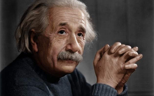 Albert Einstein. Foto: Wikimedia.