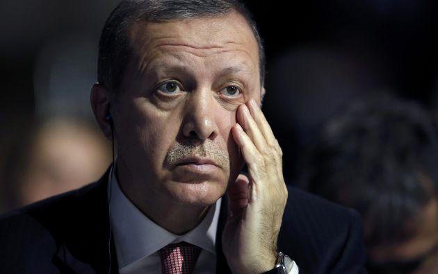 El presidente turco Recep Tayyip Erdogan. Foto: REUTERS.