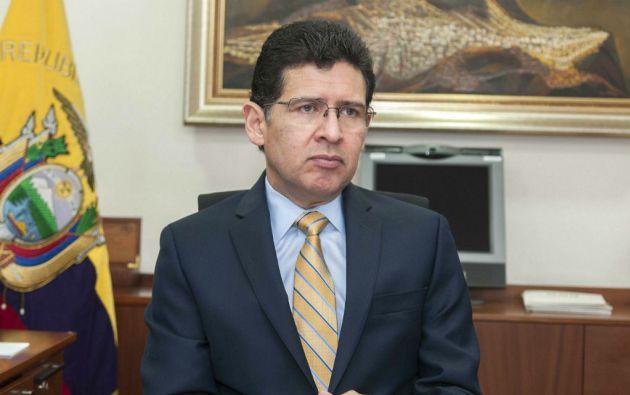 Diego García Carrión (Guayaquil, 1963). Doctor en Jurisprudencia, procurador general del Estado.