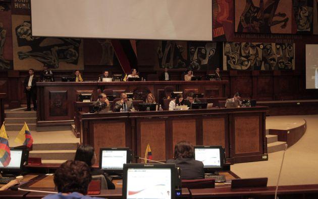La Asamblea realiza el segundo debate del proyecto de Ley de la Identidad y Datos Civiles. Foto: Asamblea Nacional.