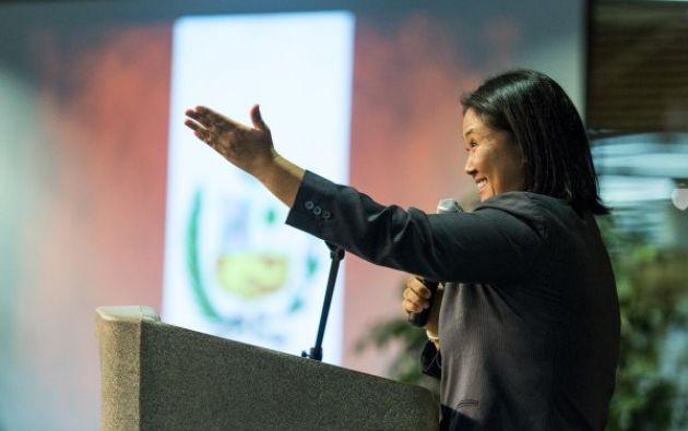 Keiko Fujimori encabeza con 33% la intención de voto para las elecciones de 2016. Foto: Twitter / Keiko Fujimori.