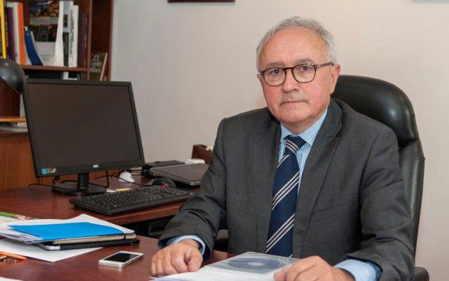 FRANCOISE GAUTHIER. Embajador de Francia en Ecuador desde septiembre de 2013.