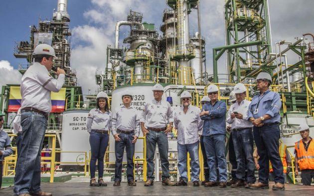El vicepresidente dice que mejorará la producción de derivados tras su remodelación. Foto: Foto: Flickr / Vicepresidencia del Ecuador.