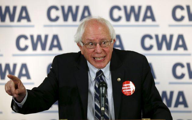Bernie Sanders, precandidato demócrata. Foto: REUTERS.